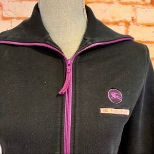 Burberry Zip Front Jacket